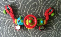Lights and Sounds Buggy Driver (Red Color). In very