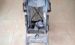 Lightweight Jeep stroller for sale. Seat padding can be