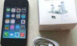 iPhone 4 16GB, Black color Phone is in perfect working