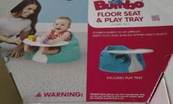 For sale like new BUMBO seat with tray set 1) This is a