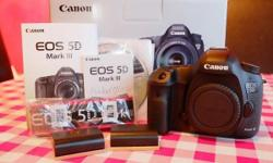 Got Canon EOS 5D Mark III 22.3MP Digital SLR Camera