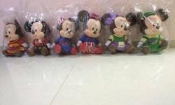hi selling full set of mickey and minnie. keen pm me