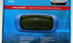 WTS : Linksys E3000 Wireless Router Fully Working and