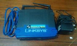 Good working condition of Linksys wireless-G broadband