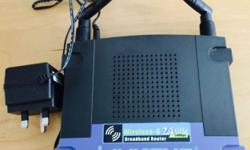 Wireless-G BroadBand Router (WRT54G) � Complies with