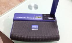 Selling off a Used Linksys Wireless Router 2.4ghz