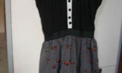Brand New. Cotton top, chiffon skirt. Small size. Deal