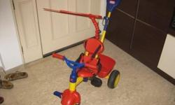 Hi, Selling my son's used Little Tikes: Trike. He has