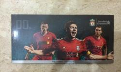 Liverpool Standard Chartered Limited Edition Cashcard