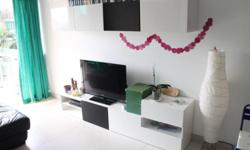 TV Bench/Living Room shelving system from IKEA, Model