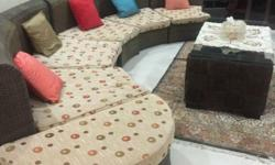 The Set includes, sofa, centre table, dinning table and