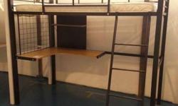 ONLY While Stock Last** NEW Loft Bed With Desk and Free