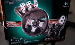 Steering wheel for car racing game Price negotiable