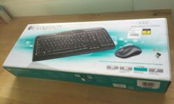 """Logitech MK330 Wireless Combo (keyboard & mouse) Brand"