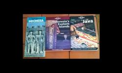 Used Lonely Planet Travel Guides on Indonesia, 1.