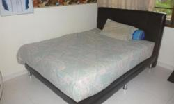 Excellent condition Lorenzo brand queen size bed with