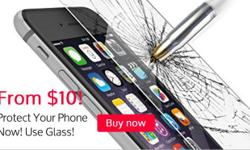 Protect your phone now! Use Glass! We sell quality