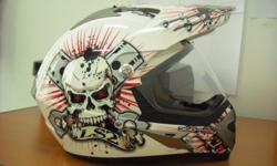 LS2 Enduro helmet, M size, for $180, inclusive of