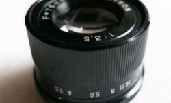 For sale: Lucky Astron Enlarging Lens 75mm f3.5 - For