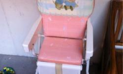 Use lucky baby brand baby chair for sale $15. Cash and