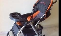 A lightweight and extremely useful stroller. Great for
