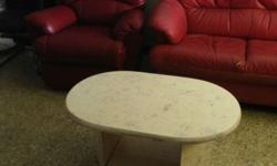 Mable Coffee Table Good Condition Self collect @