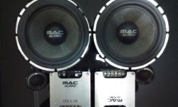 Quality Sound. Completed set w/ mid rand , teewter and