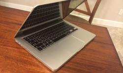 "As above, selling a Mac Book Pro 13"" Pristine"