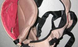 Maclaren baby carrier on front chest / back lots of