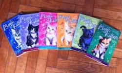 Great condition. $15 for all. Magic Kitten, By Sue