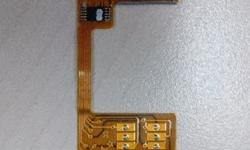This Magicsim 3G Dual Sim Adaptor is in mint and