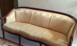 Used Mahogony Wood 3-seater.Excellent Condition. Cash