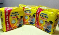 I have 3 pack of M size 7~12kg Mamy Poko Easy Fit Pants