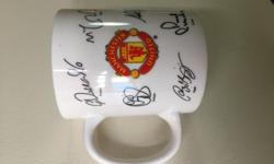 Limited Edition Man U Vintage Mug with Man U & sponsor