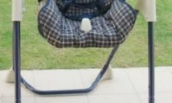 - Children Manual Swing - Sitting down or lying down