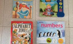 Here is a collection of board books, lift-the-flap