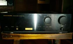 Amp in good condition. Backplate and inside housing