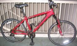 very good (brand name) 26-inch Mountain Bike below are