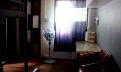 Master bedroom for rent. Air con,fan & queenside bed. 5