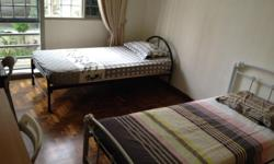 Master bedroom with private bathroom for rent. Fully