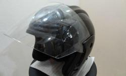 MASTER DRAGON Adult Size Motorcycle Helmet Glossy Black