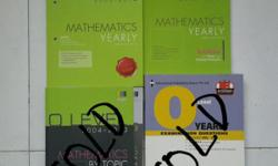 Maths text books: *Mathematics O level yearly 2005 -