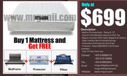 MAXCOIL BEAUTY CARE QUEEN MATTRESS ONLY AT :$699, NO