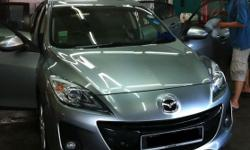 Mazda 3 (Year 2012) is available now for long term rent