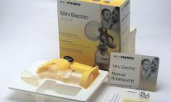 Selling a set of used MEDELA Mini Electric Breastpump.