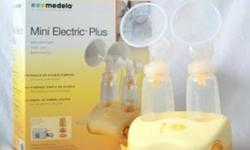 Used Medela mini electric plus for sale. Comes with