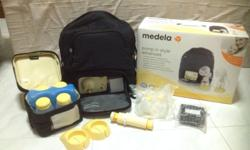 Pump in style Medela . 1 yr old. Only the motor is used