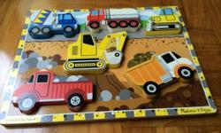 Selling Melissa and doug various puzzles, condition