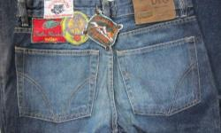 Rare Vintage Men DOLCE GABBANA Designer Patches Denim