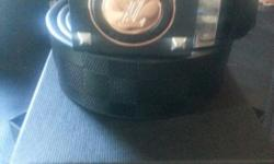 Brand new men's belt louis vuitton and armani exchange